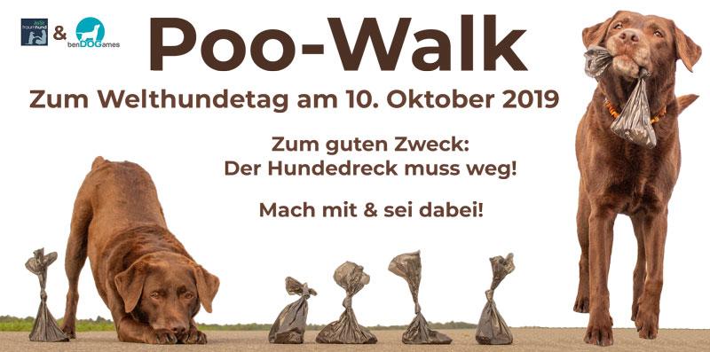 Poo-Walk (Welthundetag 10.10.19)